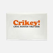 Crikey Crocodile Hunter Rectangle Magnet