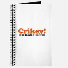 Crikey Crocodile Hunter Journal