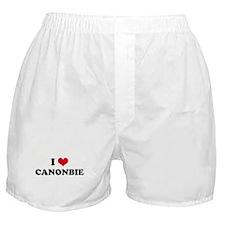 I HEART CANONBIE  Boxer Shorts