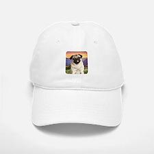 Pug Meadow Baseball Baseball Cap