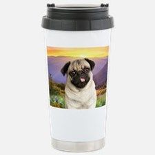 Pug Meadow Travel Mug