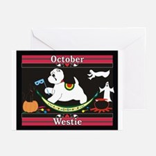 Westie Calendar dog Greeting Cards (Pk of 10)