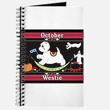 Westie Calendar dog Journal
