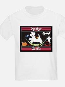 Westie Calendar dog Kids T-Shirt