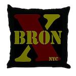 BronX NYC Throw Pillow