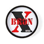 BronX NYC Wall Clock