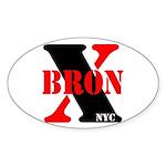 BronX NYC Oval Sticker