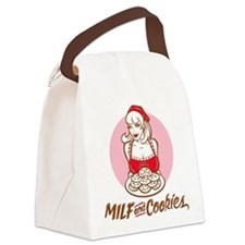 MILF and Cookies Canvas Lunch Bag