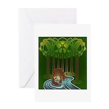Bear of Wisdom Greeting Card