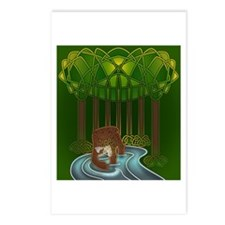 Bear of Wisdom Postcards (Package of 8)