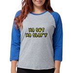 FIN-no-gut-no-glory.png Womens Baseball Tee