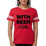 FIN-beer-all-things... Womens Football Shirt