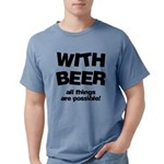 FIN-beer-all-things... Mens Comfort Colors Shirt