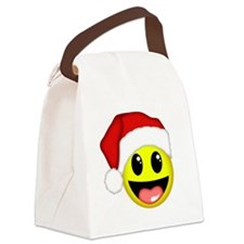 Happy Santa Canvas Lunch Bag