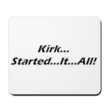 Mousepad - kirk