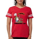 FIN-grill-therefore-i-am.png Womens Football Shirt