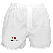 I HEART CARDIFF  Boxer Shorts