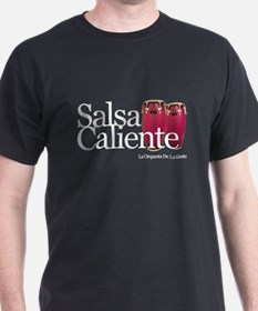 Salsa Caliente Black T-Shirt