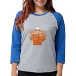 FIN-mexican-food.png Womens Baseball Tee