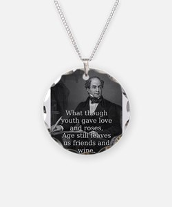 What Though Youth Gave - Thomas Moore Necklace