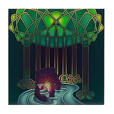 Fae Bear of WIsdom Tile Coaster