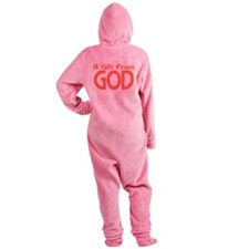 Gift From God Footed Pajamas