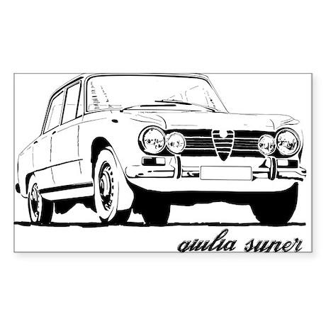 Alfa Romeo Giulia Super Decal by AlfaMaleOnlineStore