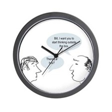 outsideofthebox.png Wall Clock