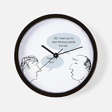 outsideofthebox.png Wall Clock