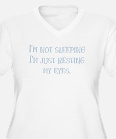 Resting My Eyes Plus Size T-Shirt