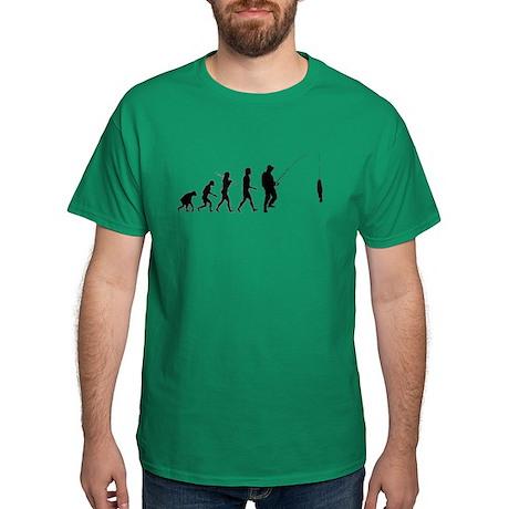 Fishing Evolution Dark T-Shirt