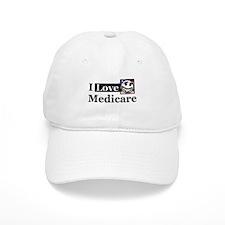 I Love Medicare Baseball Cap