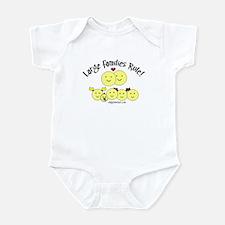 Large Families rule logo Infant Creeper