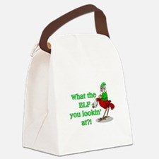 Elf You Lookin At Canvas Lunch Bag