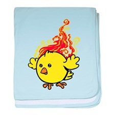 Hot Chick baby blanket