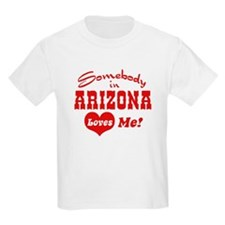 Somebody in Arizona Loves Me Kids T-Shirt