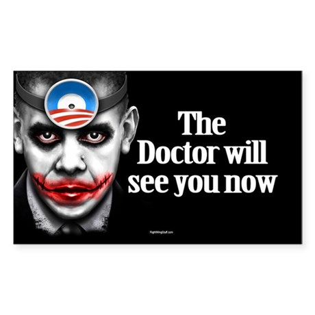 Doctor O Oval Sticker