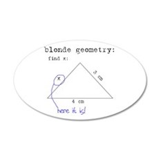 Blonde Geometry Wall Decal