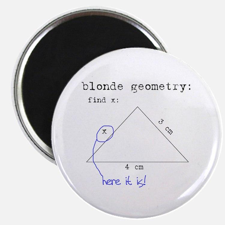 Blonde Geometry Magnet