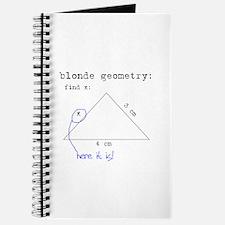 Blonde Geometry Journal