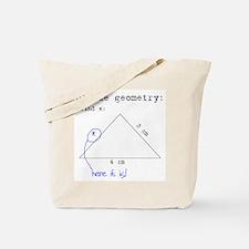 Blonde Geometry Tote Bag