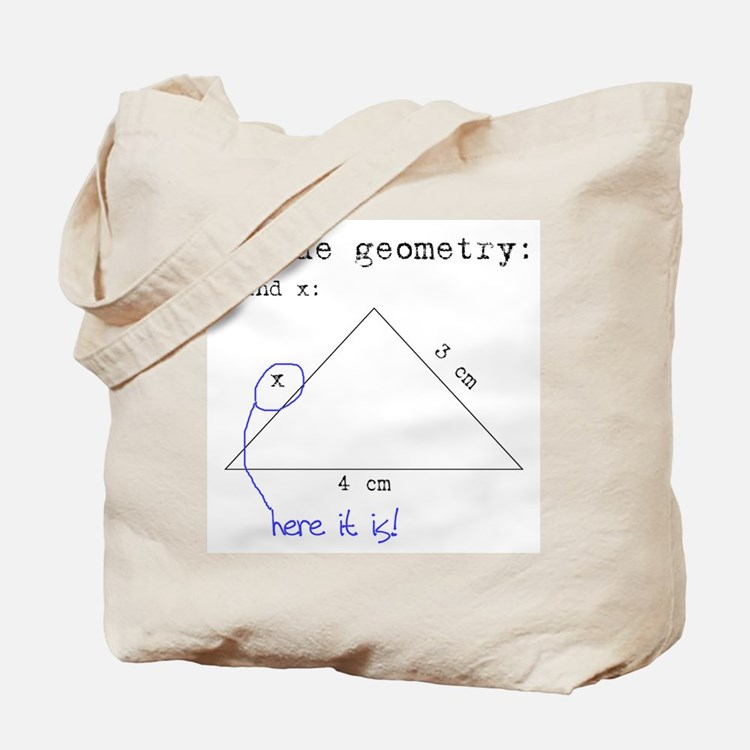 Blonde Geometry Tote Bag