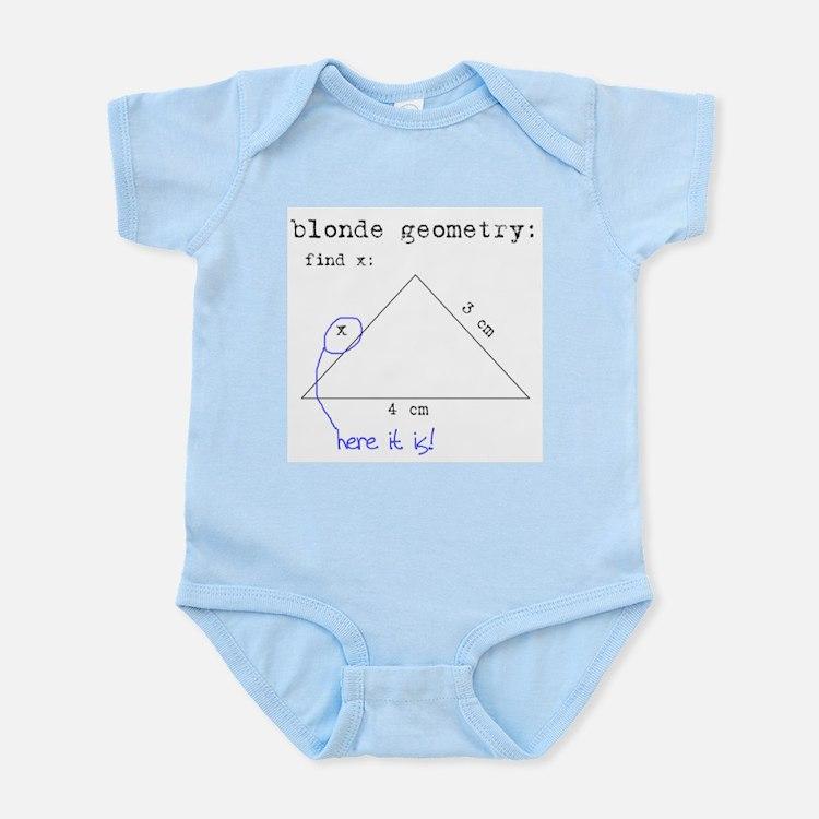 Blonde Geometry Infant Bodysuit