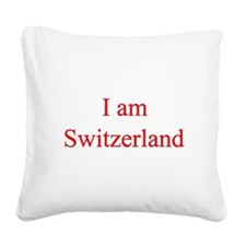 2-switzerland.png Square Canvas Pillow