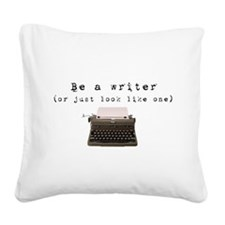fadein.png Square Canvas Pillow