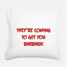 barbara2.png Square Canvas Pillow