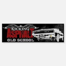 Kicking Asphalt - Charger Bumper Bumper Sticker