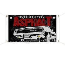 Kicking Asphalt - Charger Banner