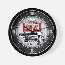 Kicking Asphalt - Charger Wall Clock