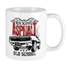 Kicking Asphalt - Charger Small Mug